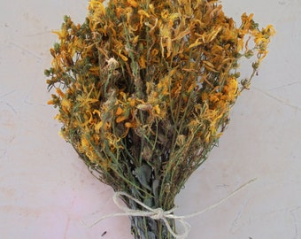 St.John's Wort dried herb from Greece, Handcrafted, Organic Herb, Wild Harvested, Naturally dried  1.7 oz  ( 50 gr)