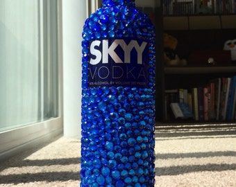 Bejeweled SKYY Vodka Bottle!