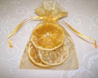Sweet, Tart & Sassy-Citrus Potpourri Sachet