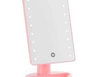 Pink Mini Vanity Mirror