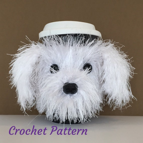 Maltese Dog Knitting Pattern : Crochet Tutorial Dog Crochet Pattern Crochet by HookedbyAngel