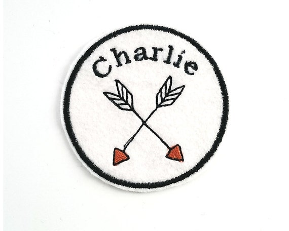 embroidered name patch