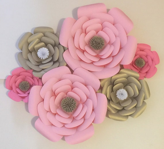 Large Paper Flower-Backdrop Photo Booth-Wedding