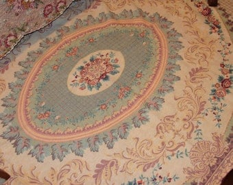 Tapestry/Rug/Bedcover/Shabby Chic with cabbage Roses