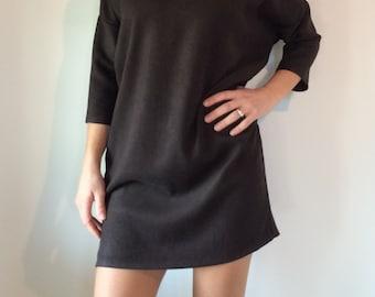 Soft dress in deerskin