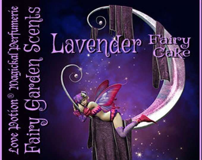Fairy Cake: Lavender - Sweet & Youthful Layerable Perfume - Love Potion Magickal Perfumerie