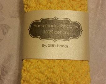 Crocheted Dishcloths/Washcloths Handmade