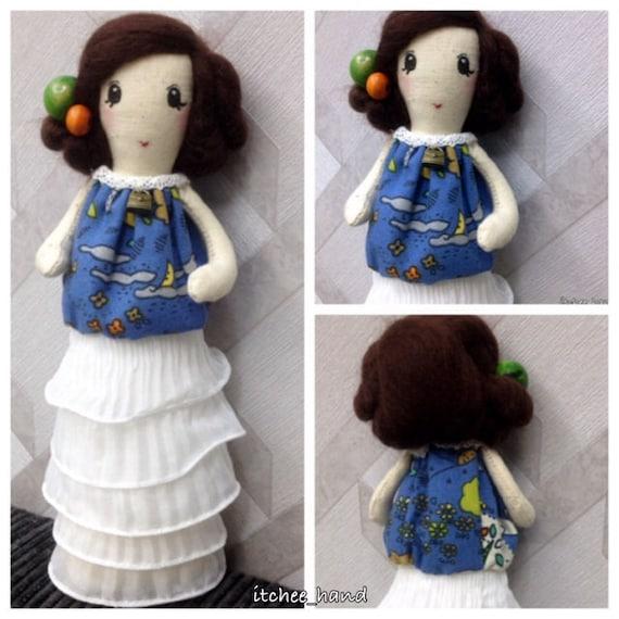Handmade doll -He Zi