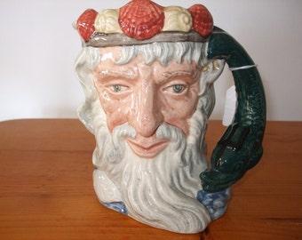 """Royal Doulton """"Neptune"""" character jug"""