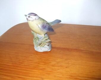 """Alfro Porcelain London """"Blue Tit"""" figurine"""