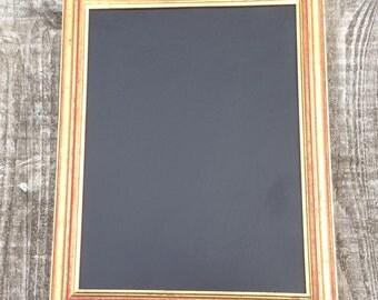 Gold & Red Vintage Frame Chalkboard / Blackboard