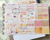 Bee Happy Personal Foldout! One tri-folded sheet, for your personal ring bound planner, Kikki K, Filofax, Kate Spade, Color Crush