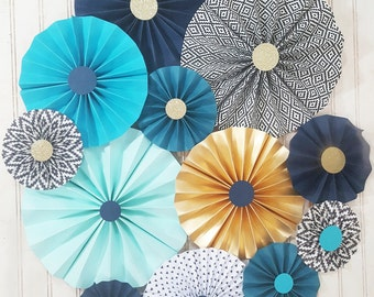 Aztec Tribal Wild One Party Pinwheel Rosettes >>> Photography Backdrop >>> First Birthday Party >>> Baby Shower