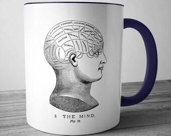 Phrenology Mind Mug