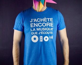 T-shirt - J'achète encore la musique que j'écoute