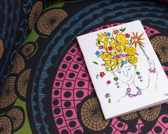 Printed Notebook - Drawings by Erba Voglio