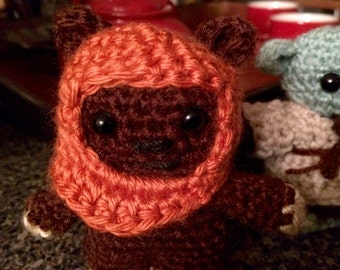 Ewok crochet doll