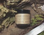 LAVENDER Deodorant | Probiotic Natural Deodorant | Healthy armpits