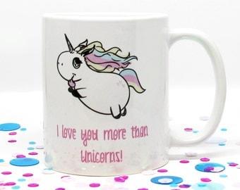 Mother's Day Gift, Coffee Mug, Unicorn Coffee Mug, Gift for Her, Gift for Him, Birthday Gift, Mom Coffee Cup, Unicorn Lover, Rainbow Unicorn