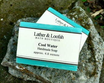 Cool Water-Shea and Mango Butter Soap