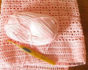 Cot Blankets Hand Crochet Bamboo