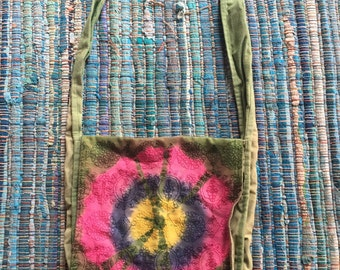 Tie Dye Hippie Shoulder Bag