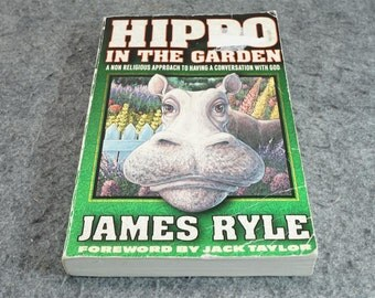 Hippo In The Garden By James Ryle C. 1993.