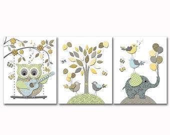 Baby Room Wall Art nursery wall art | etsy