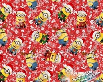 Christmas minion | Etsy
