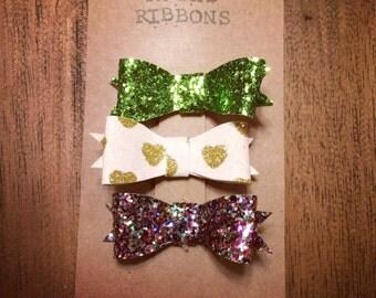 Sparkle mini bows