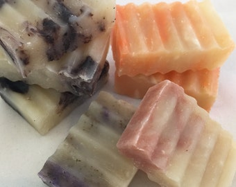 Vegan Guest Soap - Luxury Soap with Coconut Milk & Shea Butter - Natural Essential Oils