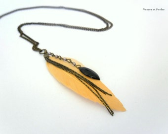 Long necklace pendant pen