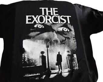 The Exorcist T-SHIRT Horror Demonic Possession Satan Ghost Creepy Demons