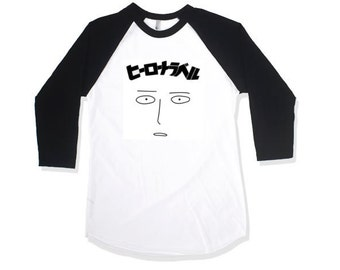 One Punch Man Anime Baseball Tee