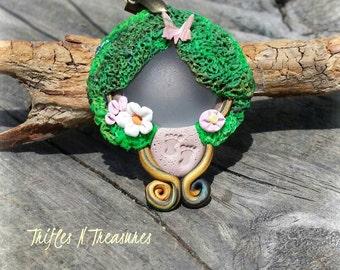 Garden/Forest Fairy Portal Pendant Necklace