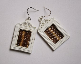 The Deciever Snake Shed Earrings