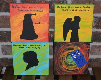 Doctor Who Paintings