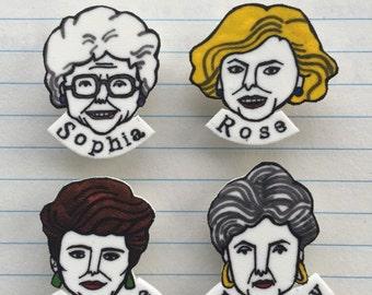 Golden Girls badge set