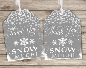 Favor Tags Baby its Cold Outside Baby Shower Thank You Tags NV790