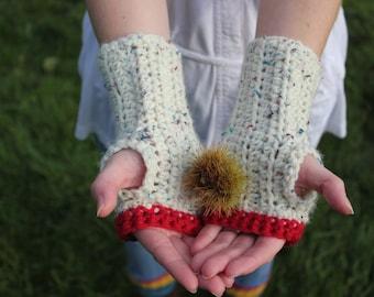 Fingerless Gloves/ Wrist Warmers