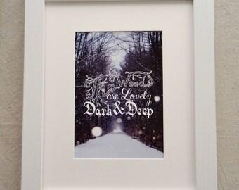 The Woods - 5x7 print
