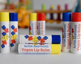 Autism Awareness Lip Balm//Autism Awareness products//Autism awareness//kids with Autism//Lip Balm for Kids with Autism//Kid's lip balm