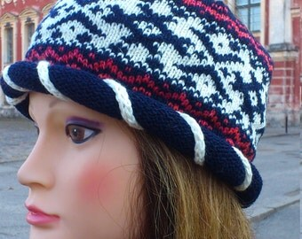 knitted head bandage