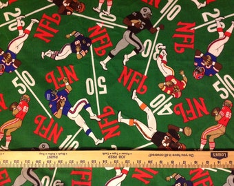 NFL football Fabric