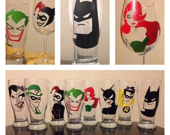 One Batman Barware