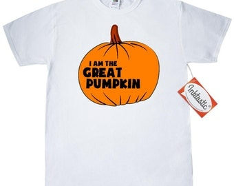 I Am The Great Pumpkin T-Shirt by Inktastic