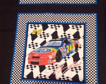 1996 Jeff Gordon, Hendrick Motorsports, Du Pont, Nascar Fabric