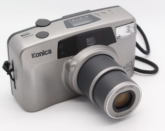 Konica Z-Up 110 Super 35mm Compact 38-110mm Zoom Camera with case – VGC/Tested - Lomo / Lomography