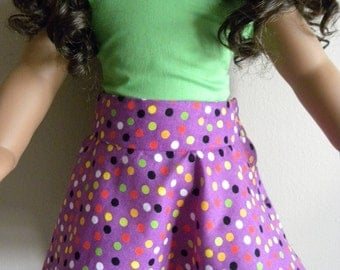 18 inch Doll Skirt and Blouse