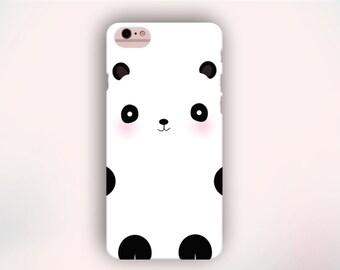 Panda Bear iPhone Case, Animal iPhone Case, Cute iPhone Case, Kawaii Case, iPhone Case, iPhone 6s case, iPhone 5s case, iPhone 4 case